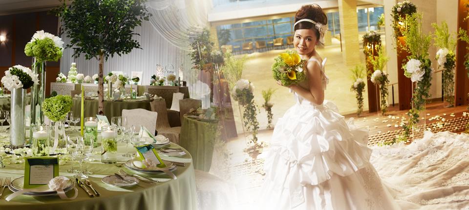 ラブアンドスイートウエディングすべては幸せな花嫁のために