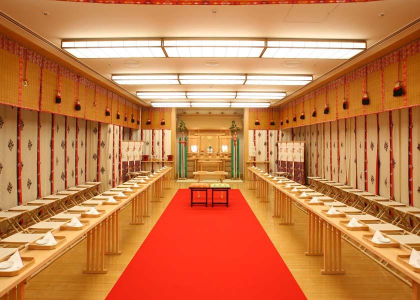 ~神前式場「慶雲殿」 関空・りんくうタウンのホテルの結婚式は関西エアポートワシントンホテル
